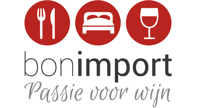 BON Import slogan red